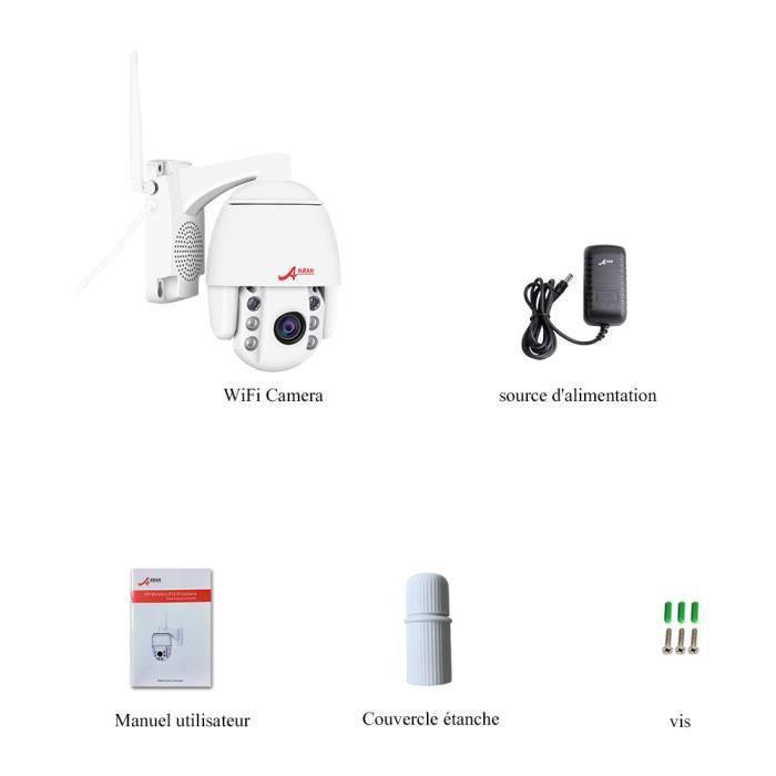 comparateur-ANRAN-Caméra-de-Surveillance-Extérieur-topifive