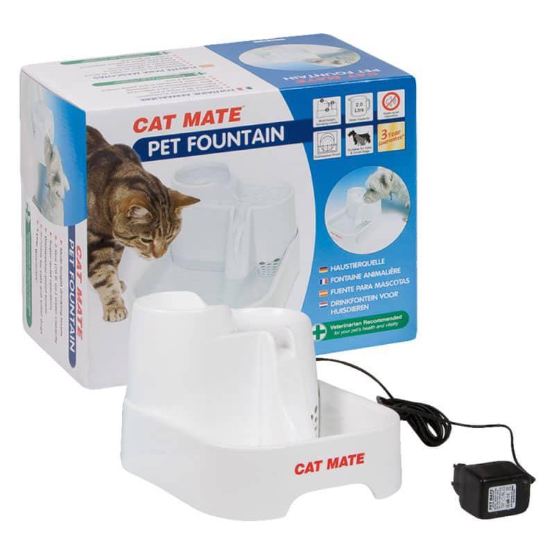 comparateur-Fontaine-à-eau-Cat-Mate-pour-chien-et-chat