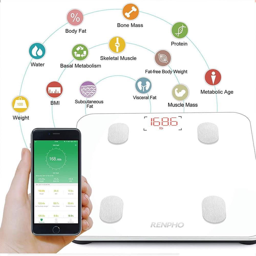 connectée-Pèse-Personne-Bluetooth-Balance-Salle-de-Bains-topifive