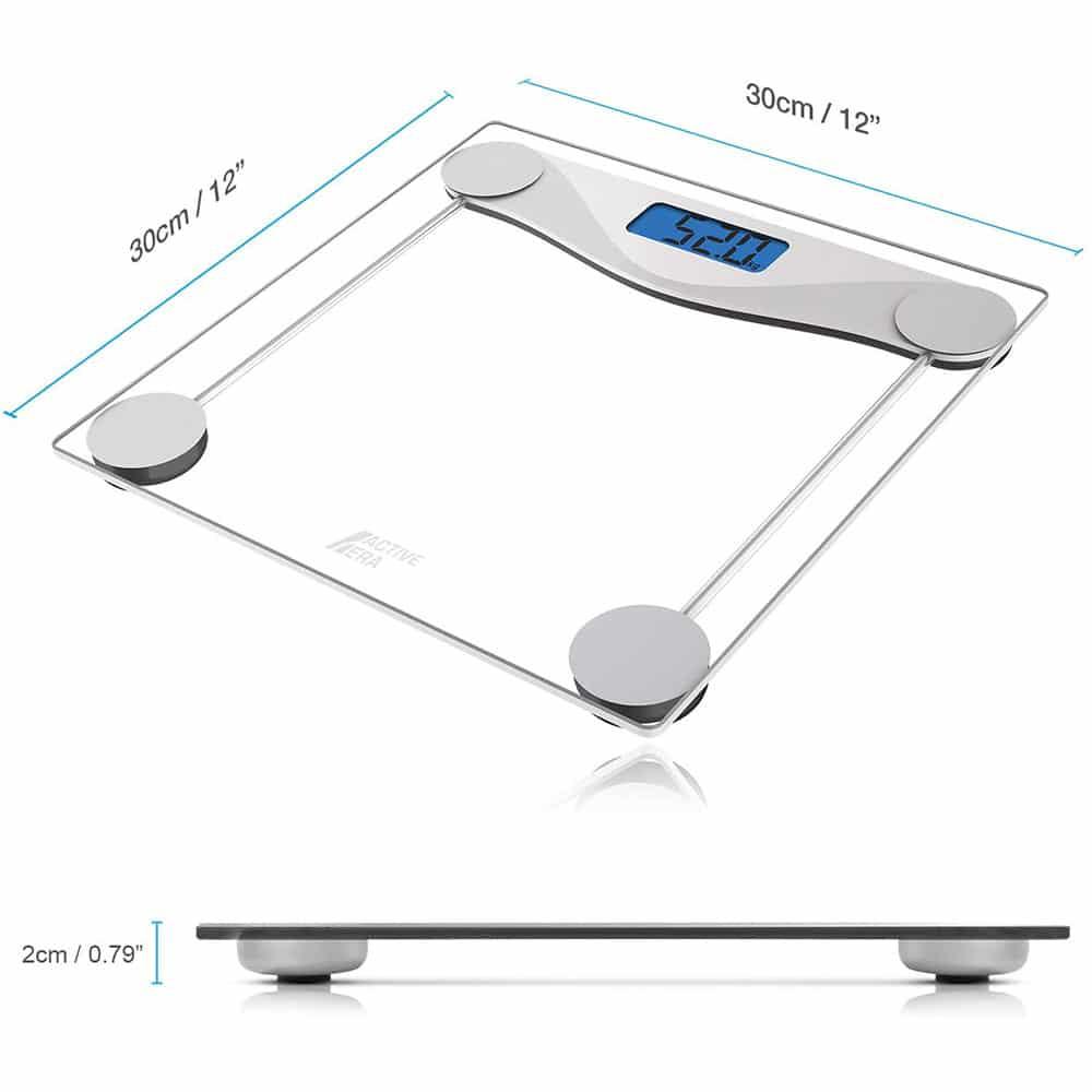 dimensions-Active-Era-Pèse-Personne-Balance-électronique-topifive