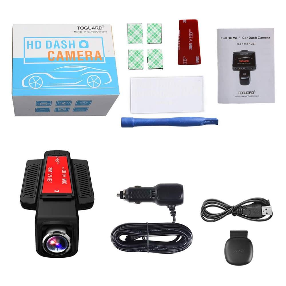 comparateur-TOGUARD-Caméra-de-Voiture-GPS-WiFi-Grand-Angle-de-170°-Caméra-Embarquée-topifive