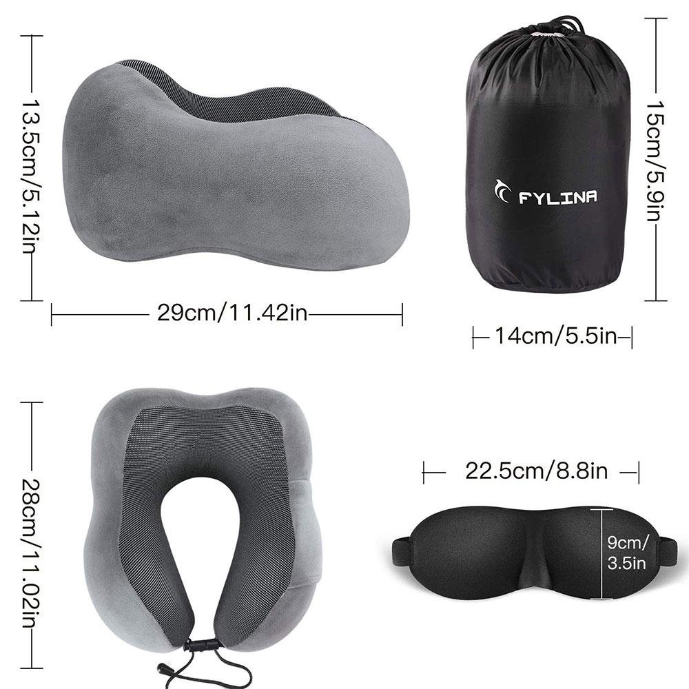 meilleur-Oreiller-Cervical-en-Mousse-Mémoire-avec-Masque-de-Sommeil-et-Bouchons-d'oreille-topifive