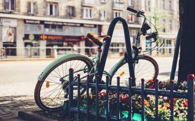 antivols en U ou chaine, cadenas pour vélo