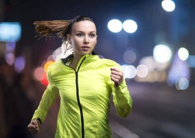 sport-veste-reflechissante-fluorescente